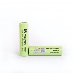 Brillipower IMR 18650 3100mAh 40A
