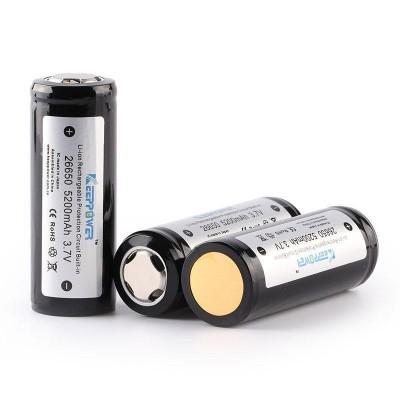 Keeppower 26650 5200mAh с защитой