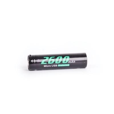 Soshine 2600mAh с защитой и зарядным устройством
