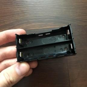 Холдер на два аккумулятора 18650