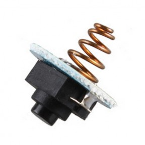 Кнопка для фонарей конвой S/M/C серий с платой и пружинкой