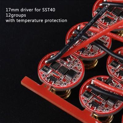 Драйвер 17мм 12 групп режимов для SST40
