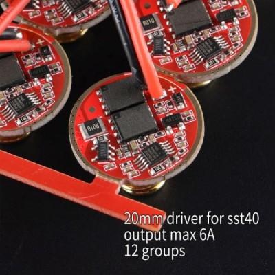 Драйвер 20мм 12 групп режимов для SST40