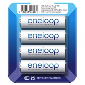 Panasonic Eneloop AA 2000mAh 4шт