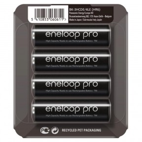 Panasonic Eneloop Pro AA 2500mAh 4шт