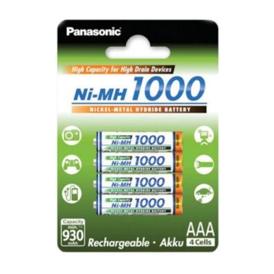 Panasonic AAA 1000mAh 4шт