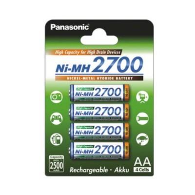 Panasonic AA 2700mAh 4шт